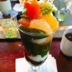 京都 河原町 抹茶パフェ